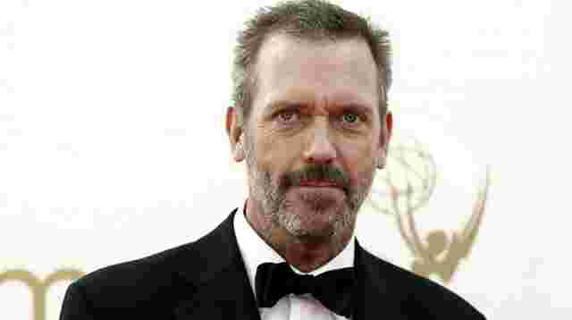 "Hollywood-Stern für ""Dr. House"" Hugh Laurie"