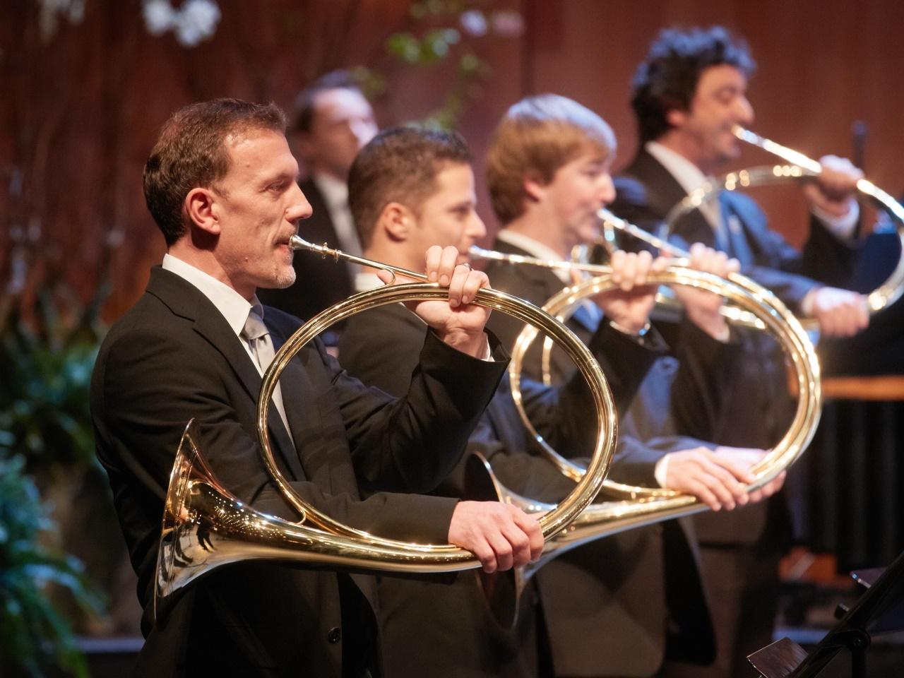 Hubertusmesse mit den Mozarteum Parforce Horns