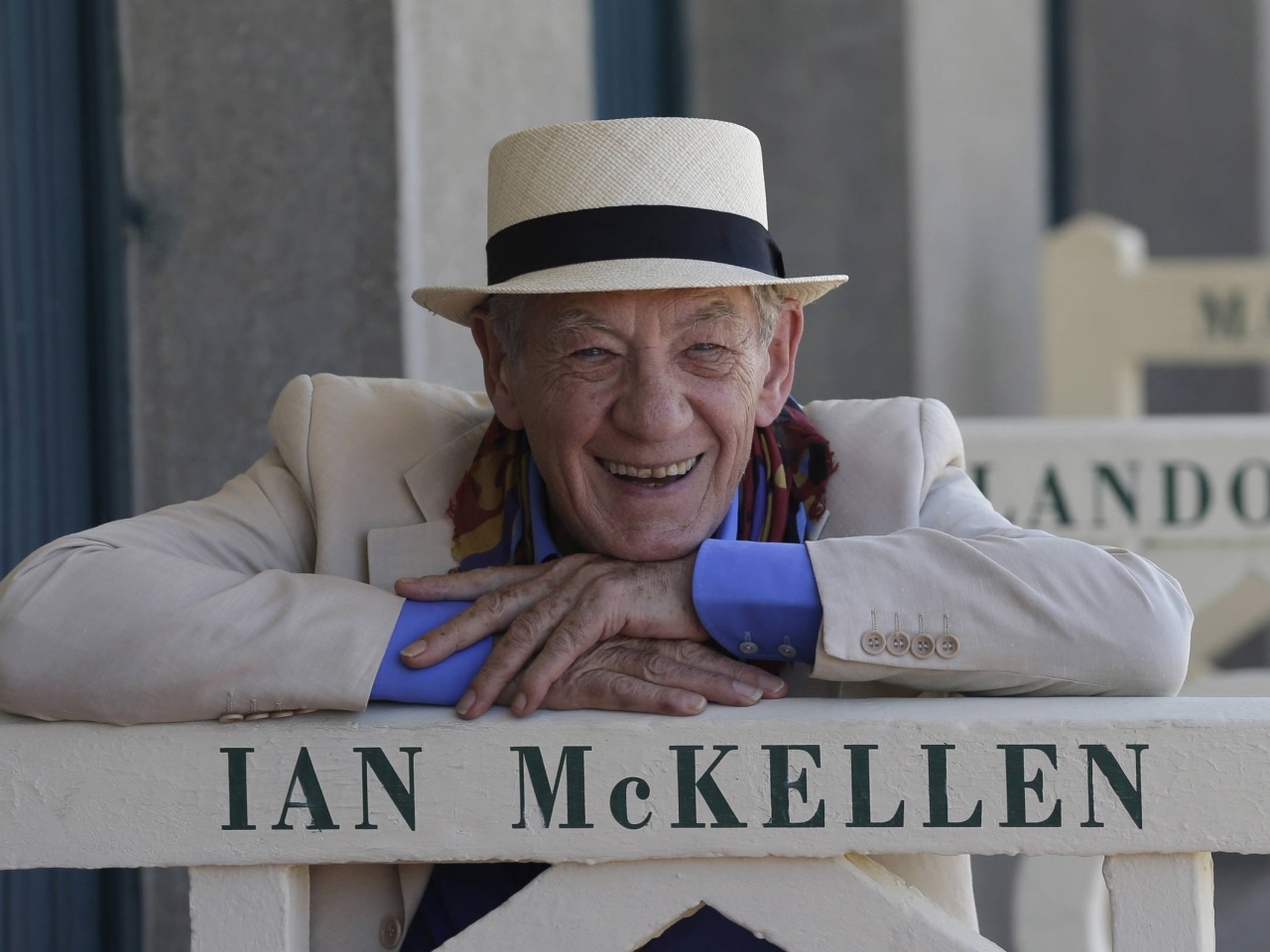 Ian McKellen - der britische Schauspieler wird 80