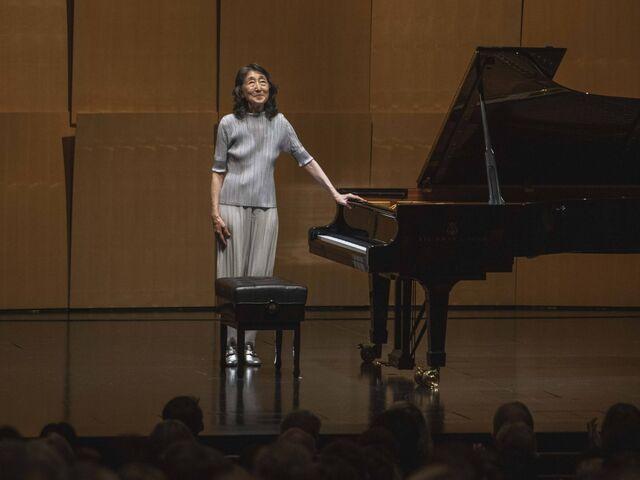 Mitsuko Uchida interpretó a Schubert en la casa de Mozart.