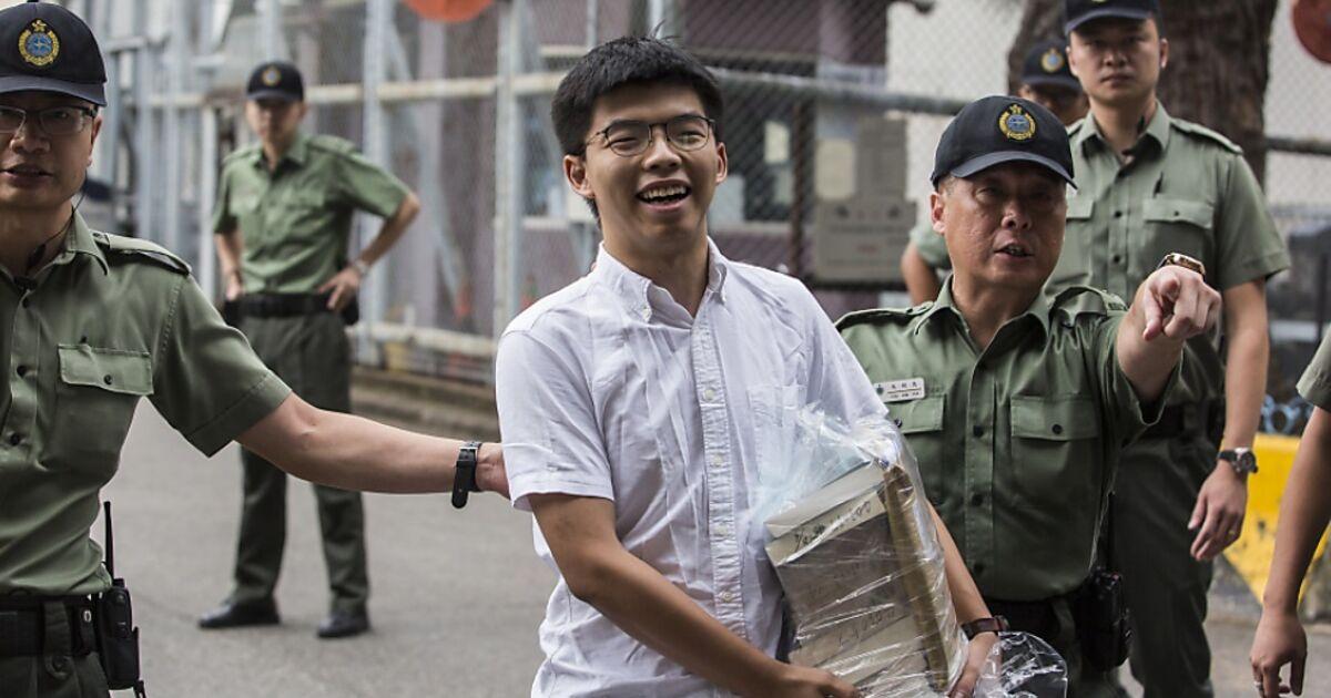 Inhaftierter-Aktivist-Joshua-Wong-in-Hongkong-freigelassen