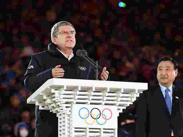 IOC-Chef Bach besucht Nordkorea