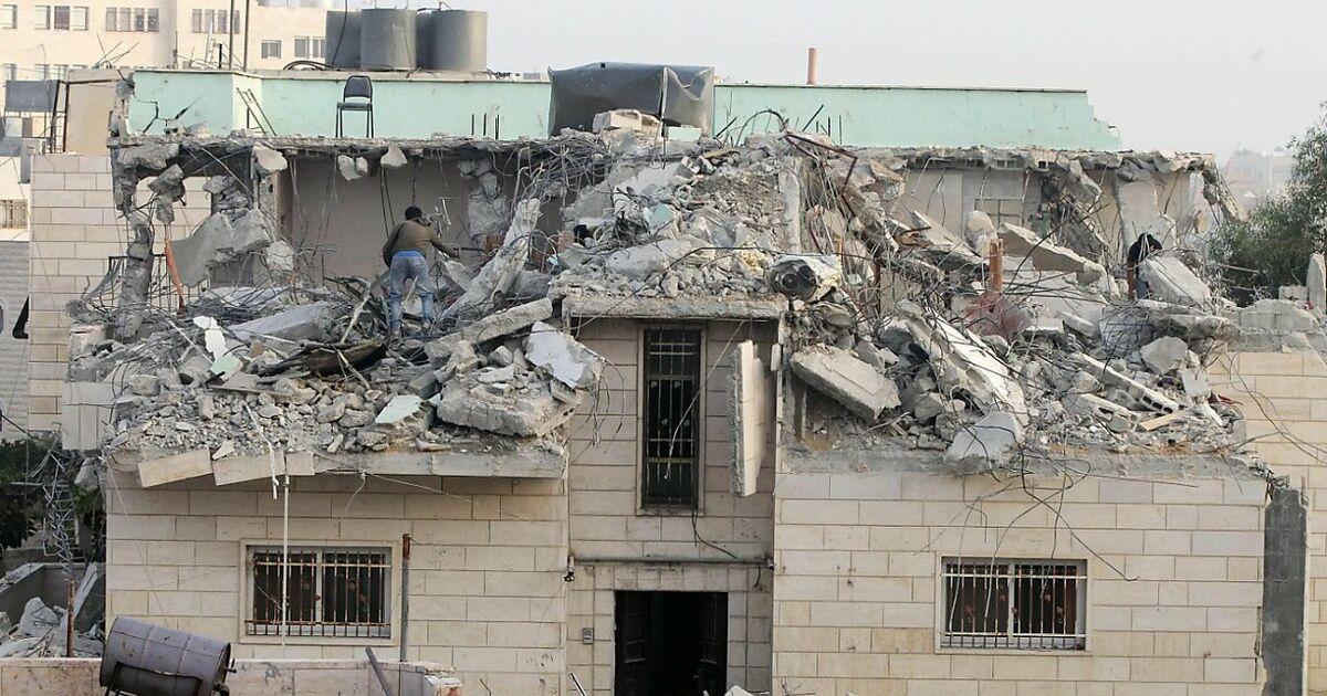 israels armee zerst rte h user pal stinensischer. Black Bedroom Furniture Sets. Home Design Ideas