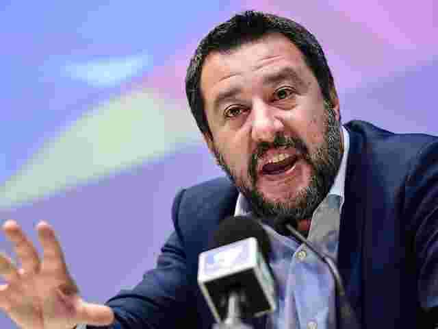 Italienischer Innenminister Salvini trifft Orban in Budapest