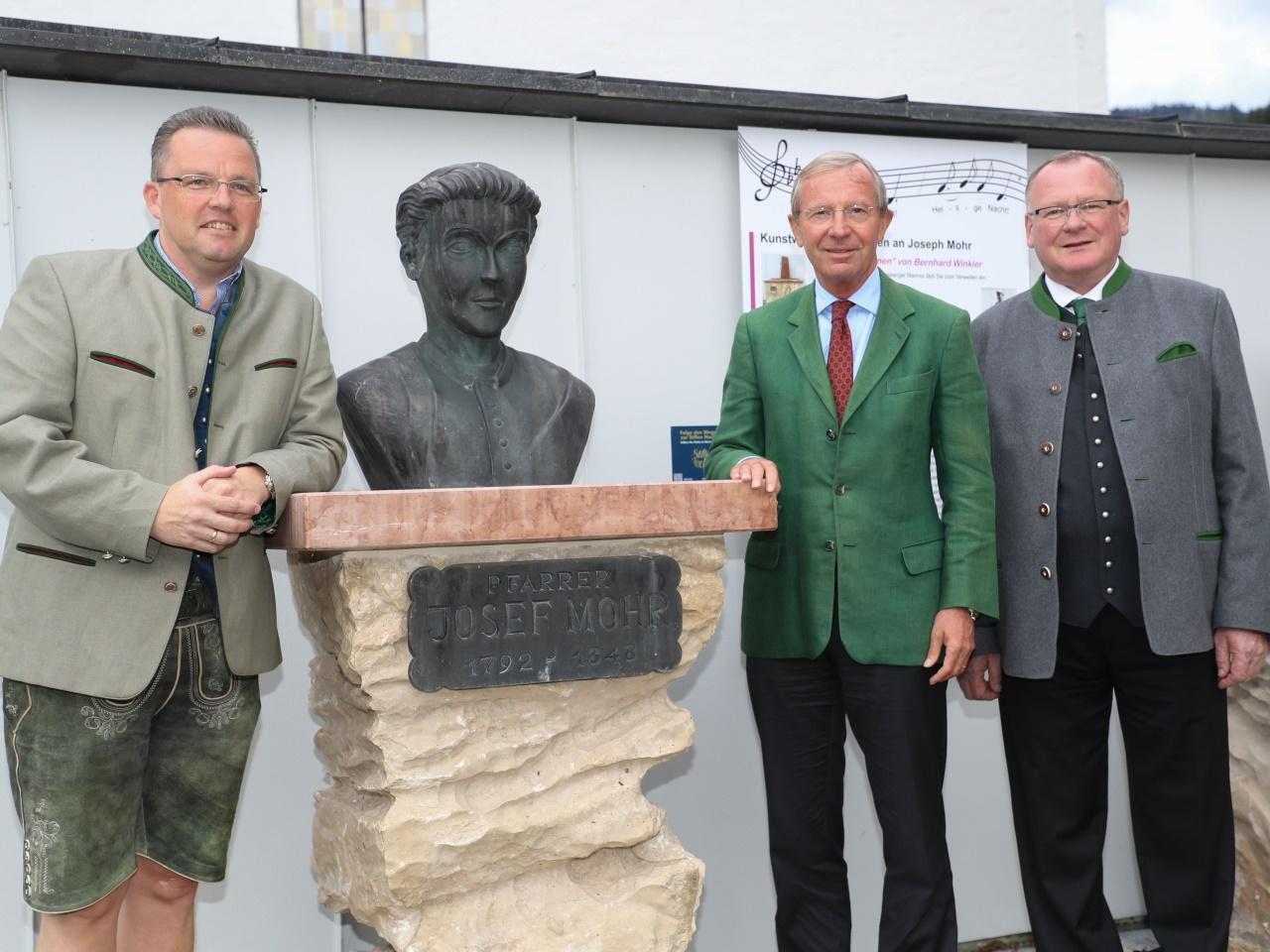 Joseph-Moor-Gedenkweg in Hintersee eröffnet