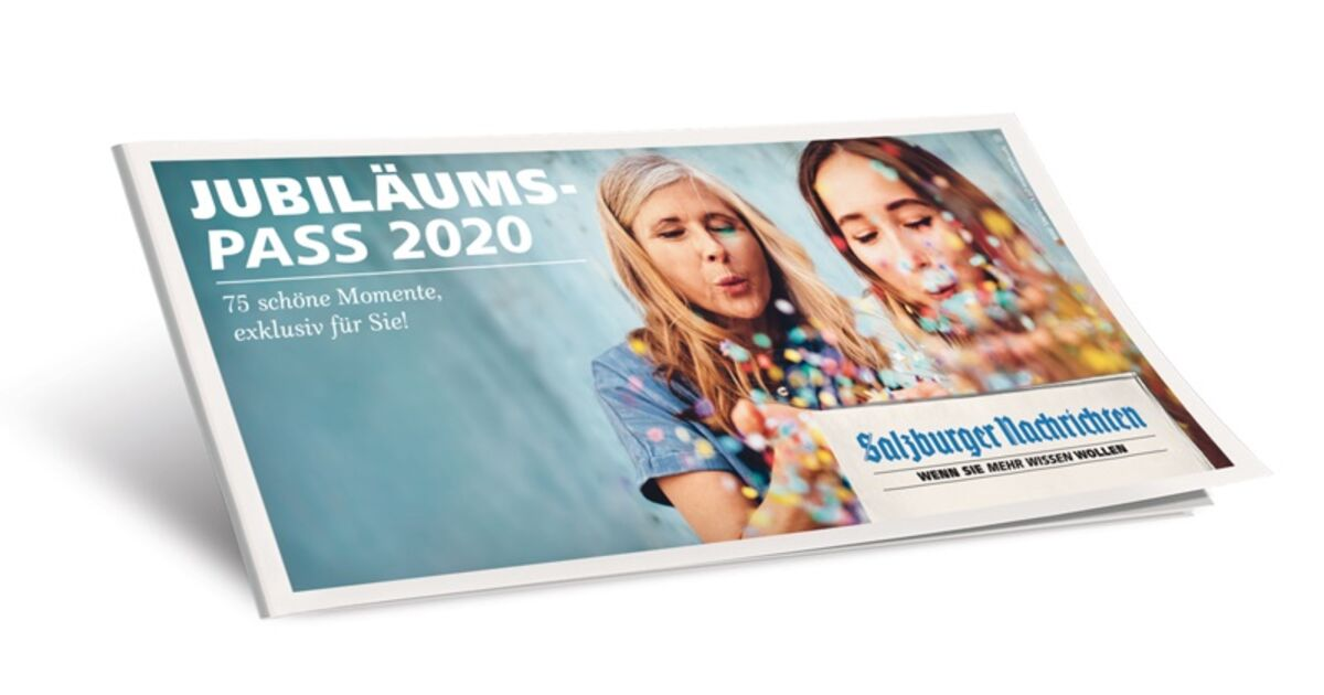 JUBILÄUMSPASS 2020 | SN.at
