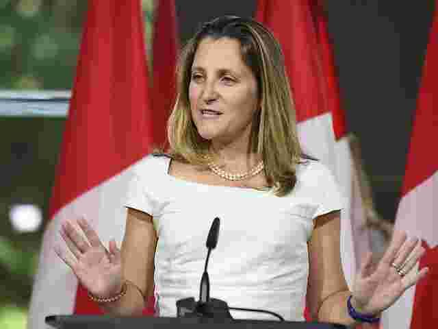 Freeland trifft in Washington den US-Handelsbeauftragten