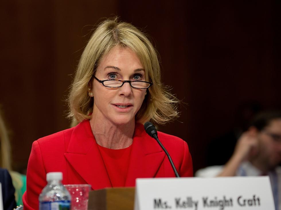Kelly Knight Craft soll neue US-Botschafterin bei UNO werden