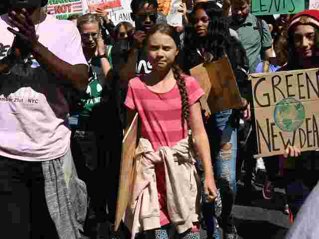 Greta Thunberg in New York.