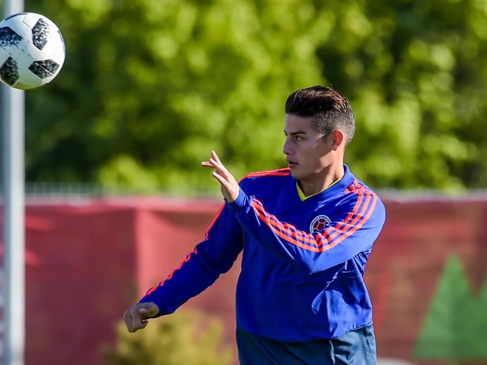 Kolumbien baut gegen Japan auf seinen Superstar James
