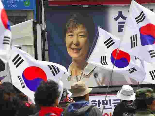Korruption: 24 Jahre Haft für südkoreanische Ex-Präsidentin Park