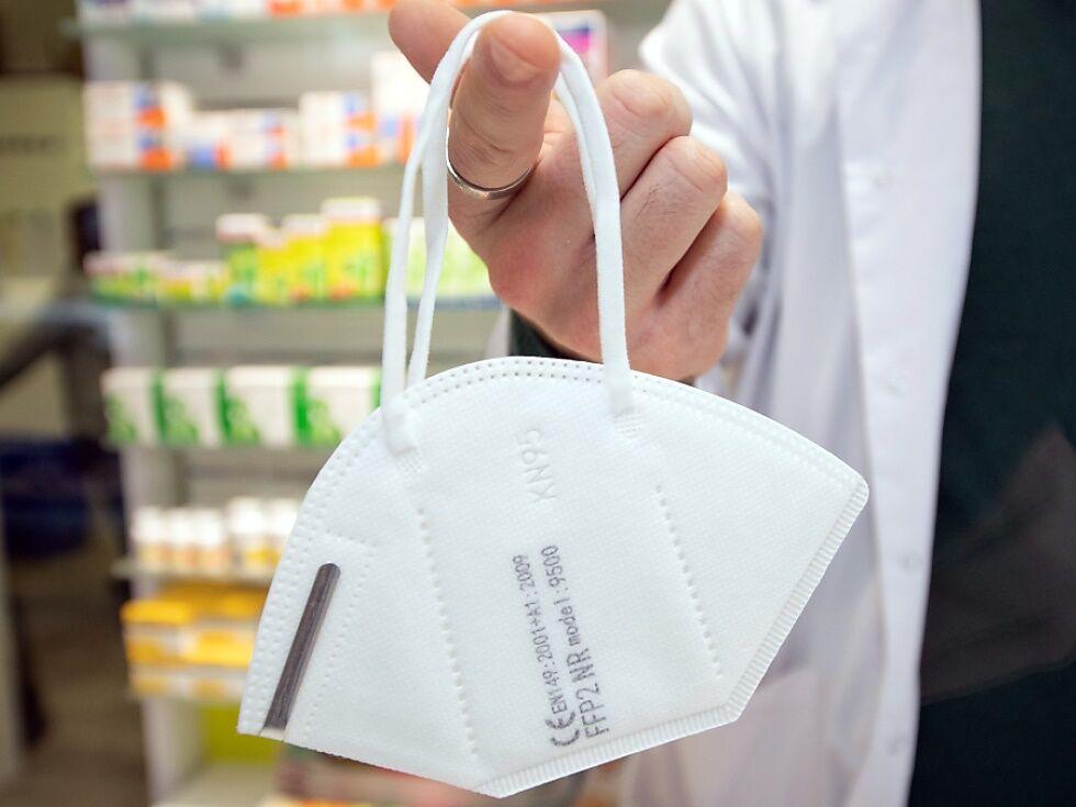 Kostenpunkt für Pflicht-FFP2-Masken beim Einkauf noch offen