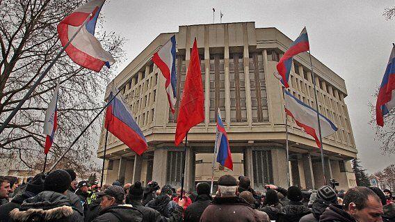 Krim wird zum Krisenherd Drohgebärden aus Moskau | SN.at
