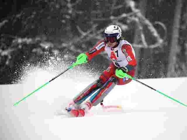 Kristoffersen führt bei Slalom in Kitzbühel