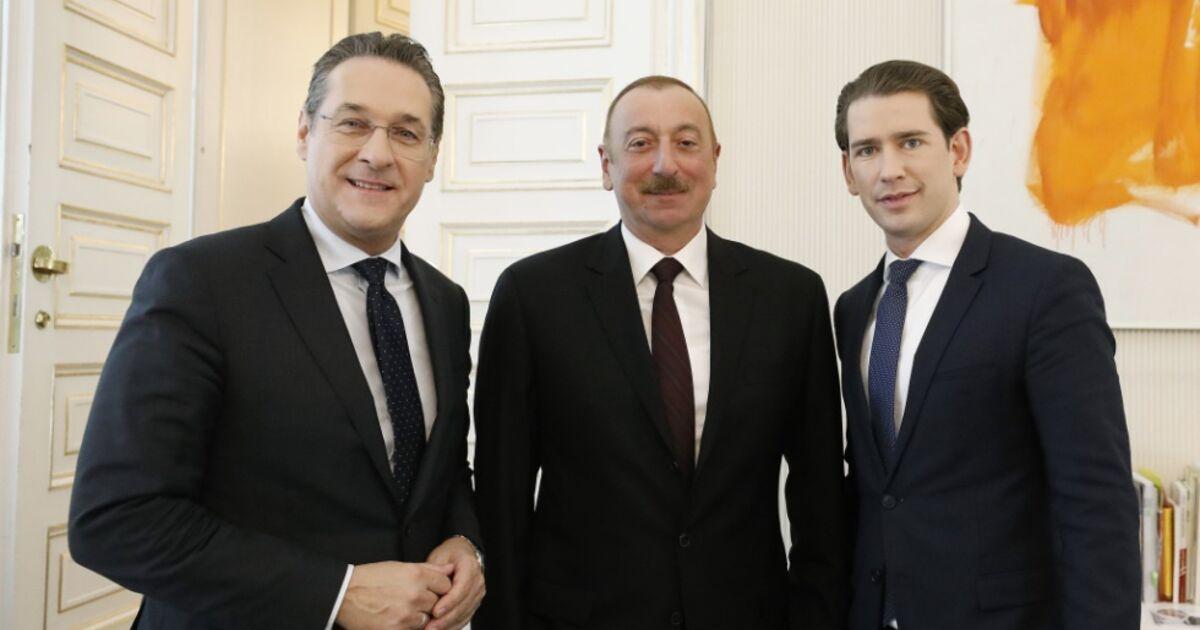 Kurz empfing Aliyev und Paschinian in Wien