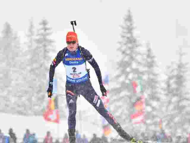 Kuzmina dominierte Sprint in Le Grand-Bornand