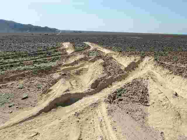 Lkw beschädigt 2000 Jahre alte Nazca-Linien in Peru