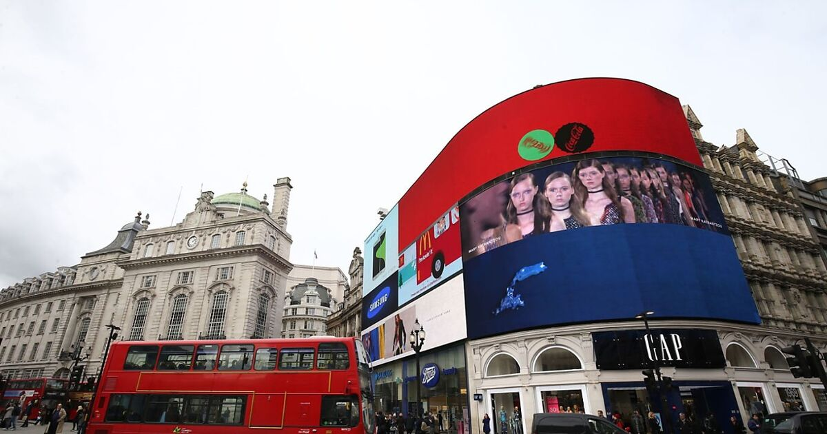 lichter aus am piccadilly circus in london. Black Bedroom Furniture Sets. Home Design Ideas