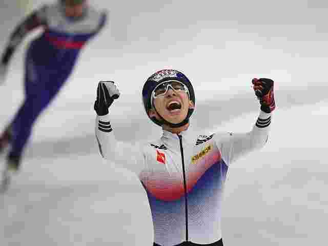 Shorttracker Lim gewinnt erstes Gold für Südkorea