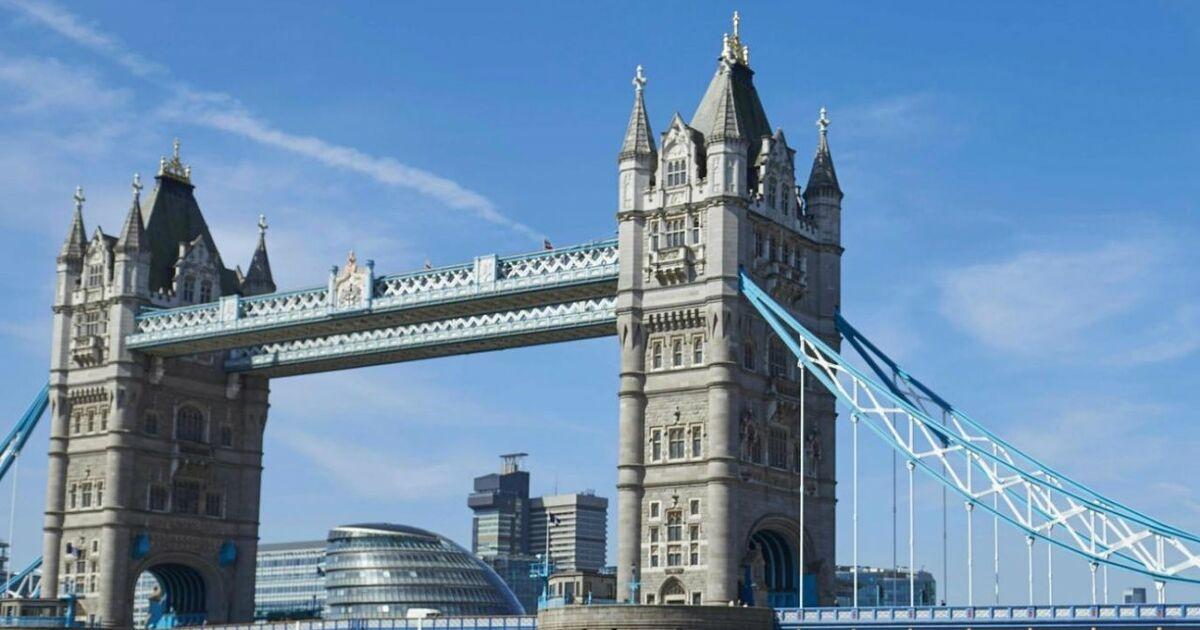 londoner tower bridge wird renoviert und f r autos. Black Bedroom Furniture Sets. Home Design Ideas