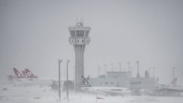Mehr Als 600 Flüge Wegen Schneefalls In Istanbul Gestrichen Snat