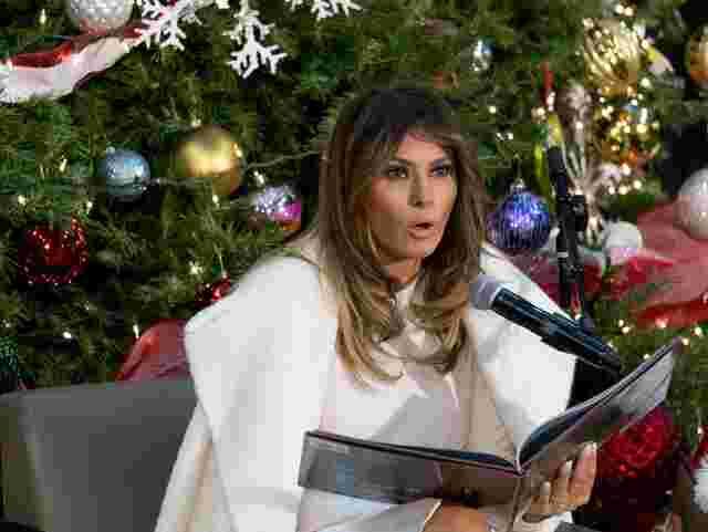 First Lady der USA will Weihnachten auf einsamer Insel verbringen