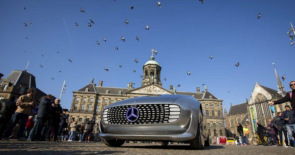 Mercedes Absatz