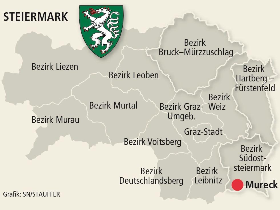 Steirische Gemeinde Mureck will in einen anderen Bezirk