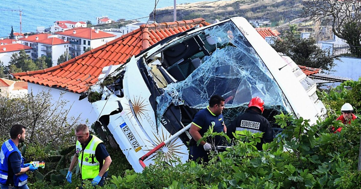 Nach Busunglück auf Madeira Verwechslung bei Opferrückholung