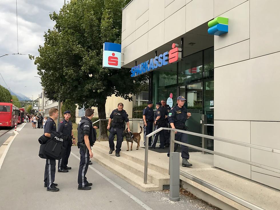 Nach Geiselnahme in Innsbrucker Bank: Verdächtiger in U-Haft