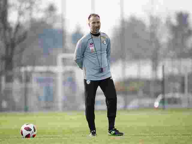 Neo-Trainer Mählich am Sturm-Graz-Trainingsplatz