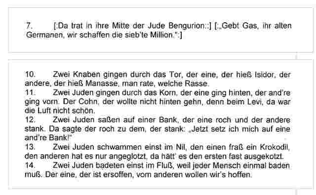 NS-Liederbuch bei Wiener Burschenschaft aufgetaucht