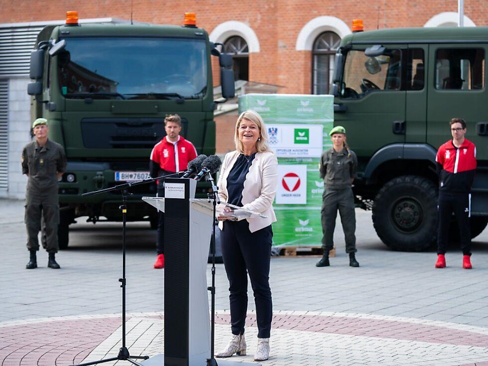 Neue Großraumbusse für das Bundesheer