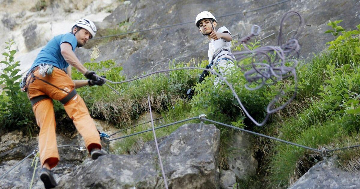 Klettersteig Salzburg : Klettersteig kapuzinerberg stadt salzburg