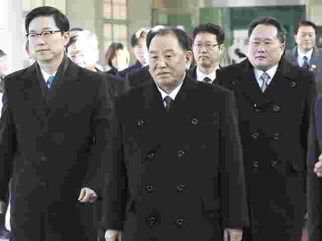 Nordkoreanische Delegation zu Olympia überquerte Grenze nach Südkorea