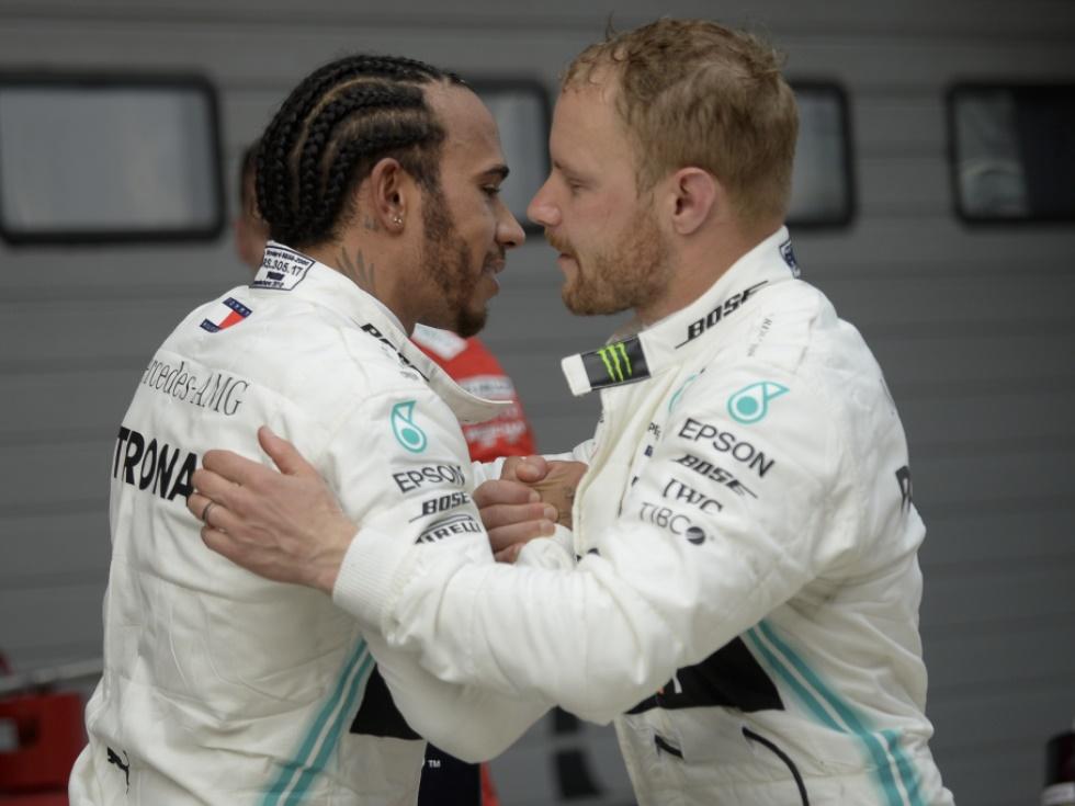 Formel 1 Nach Schrecksekunde Hammer Time Fur Mercedes Sn At