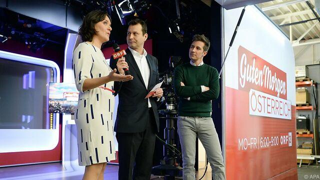 Orf Frühfernsehen Guten Morgen österreich Auf Zielgerade