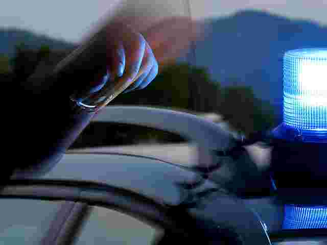 Passers-by arrested the suspect after an attempted rape in Attergau until the arrival of the police (symbol).