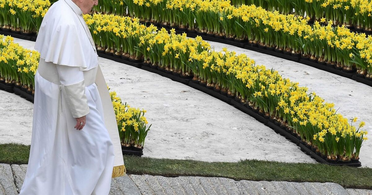 Papst trauerte bei der Ostermesse in Rom um die Anschlagsopfer in Sri Lanka