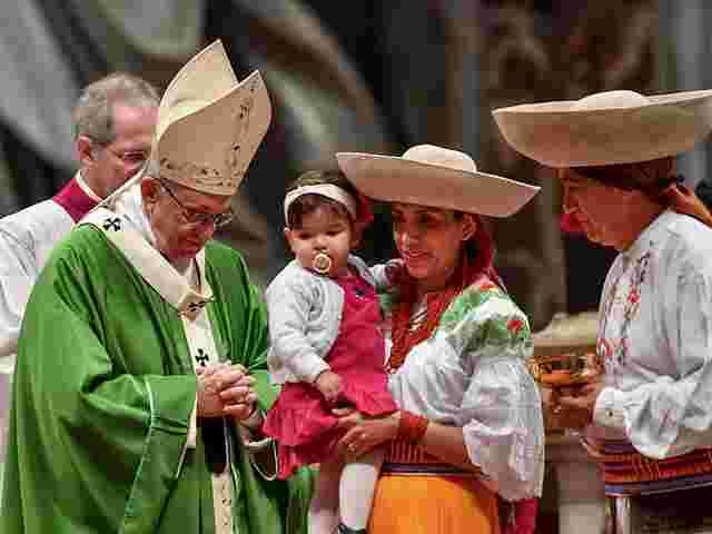 Papst ruft Migranten zur Integration auf
