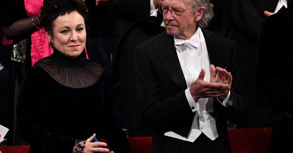 Peter Handke bekam den Literaturnobelpreis überreicht