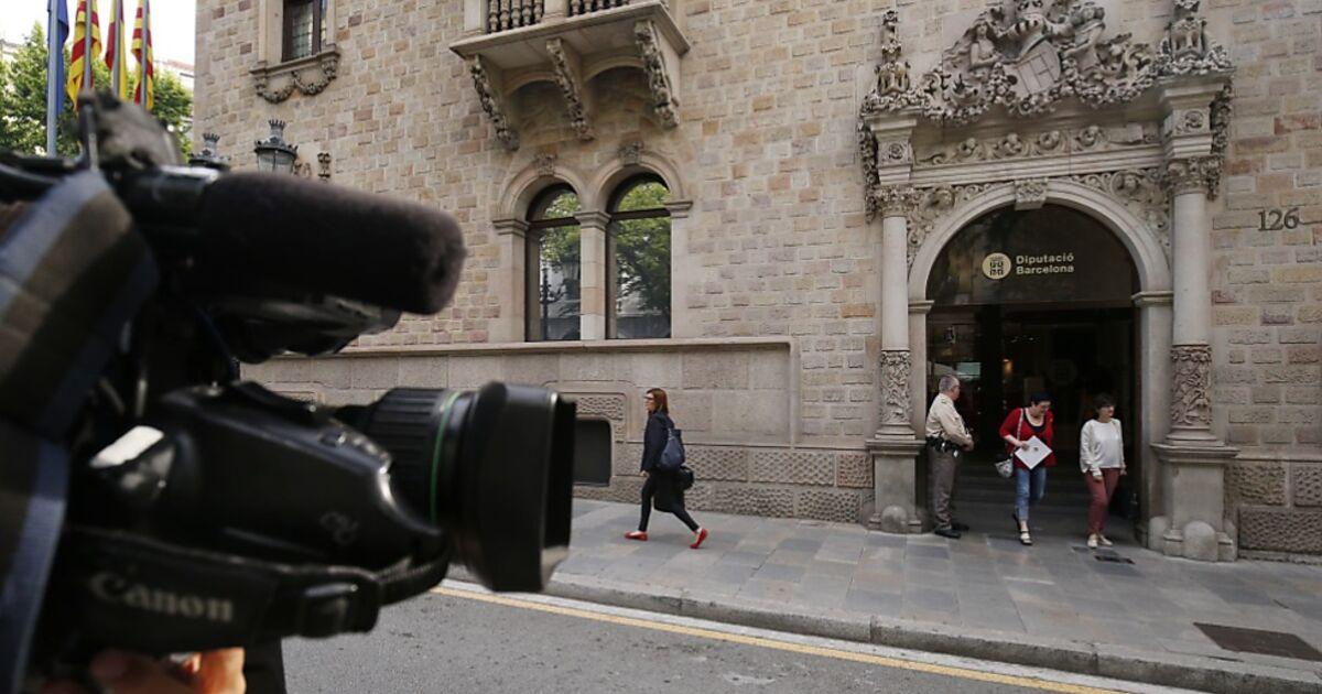 Polizei-Großeinsatz in katalanischen Regierungsgebäuden