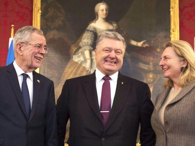 Poroschenko Traf Van Der Bellen Und Kurz Sn At