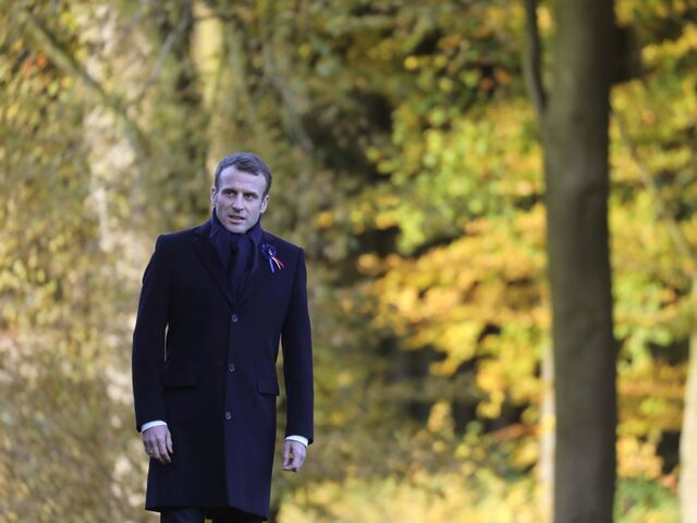 Emmanuel Macron kämpft mit schlechten Beliebtheitswerten.