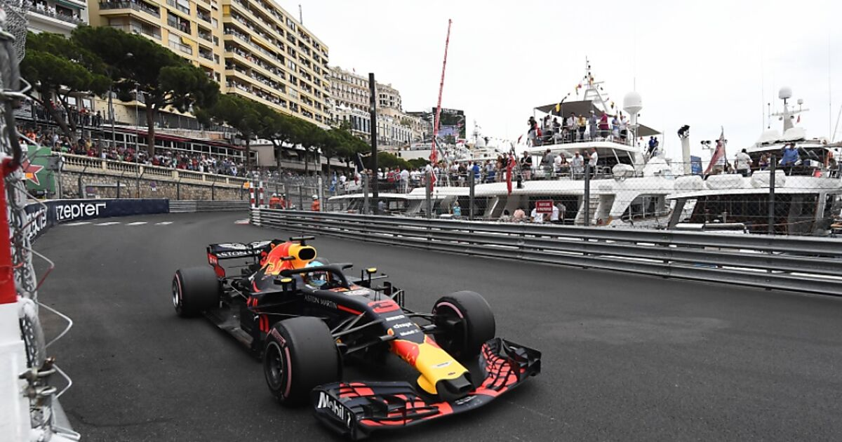 ricciardo holte in monaco jubil umssieg f r red bull. Black Bedroom Furniture Sets. Home Design Ideas