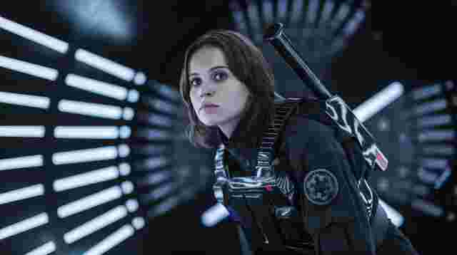 "Felicity Jones in ""Rogue One""."