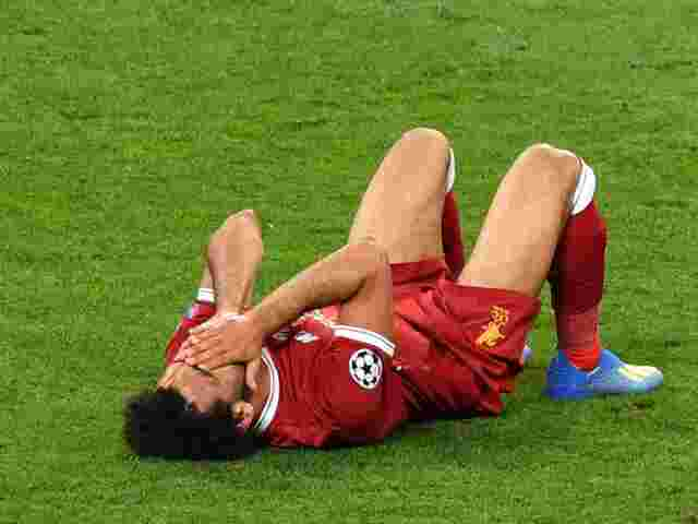 Salah Verletzung