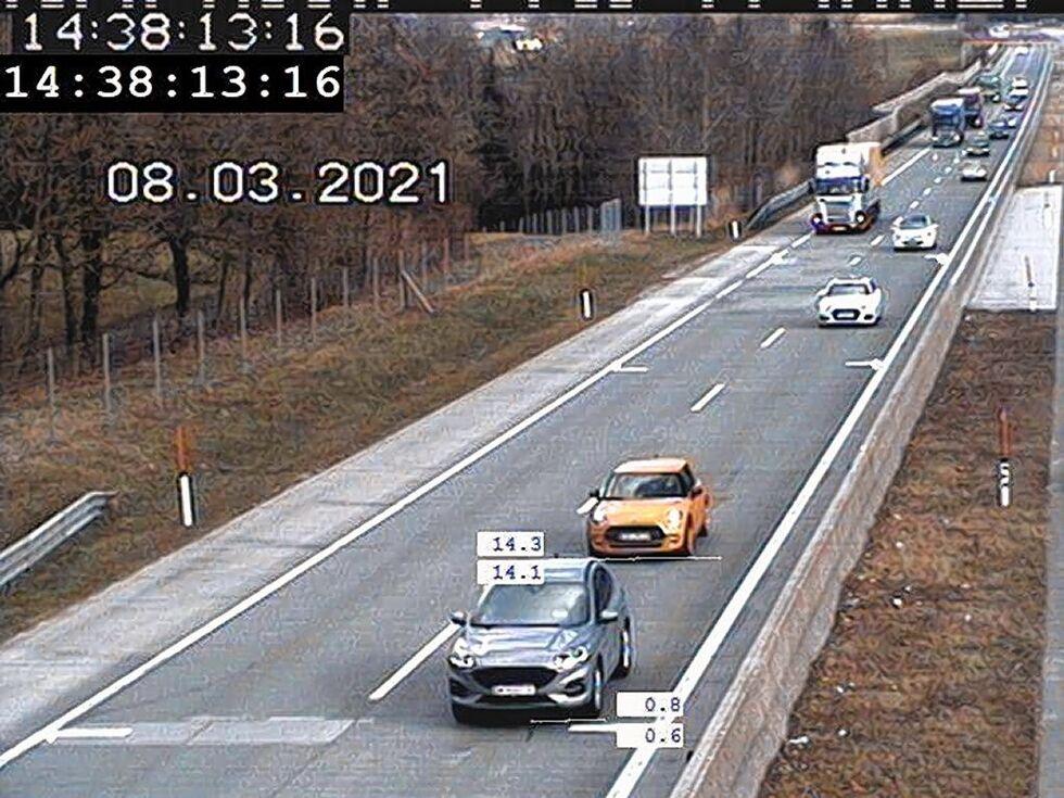 91 Anzeigen wegen Windschattenfahrens auf Salzburger Autobahnen
