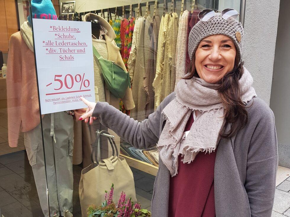 Salzburger Altstadtkaufleute sind trotz des Lockdowns für die Kunden da