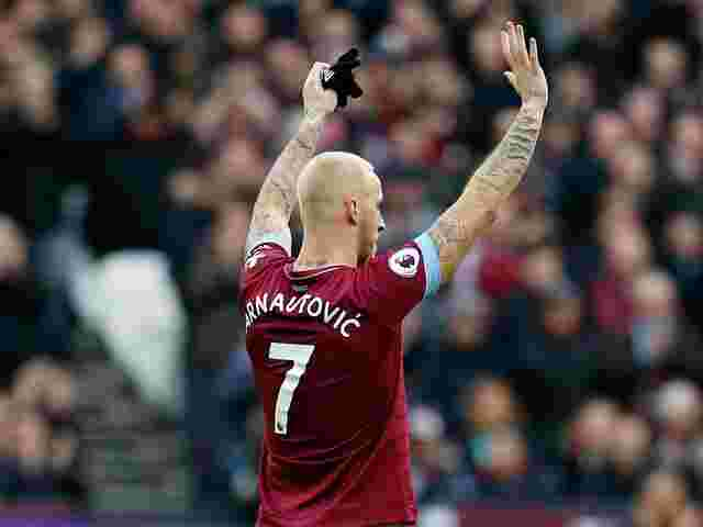 Good bye, London: Marko Arnautovic verlässt West Ham.